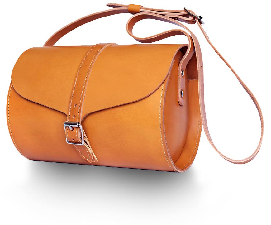 Tan Curve Bag
